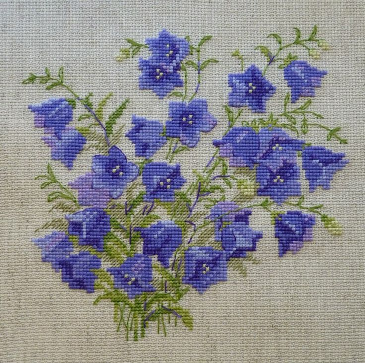 Larisa Pavlovskaya, perfectly stitched, I like the purples.
