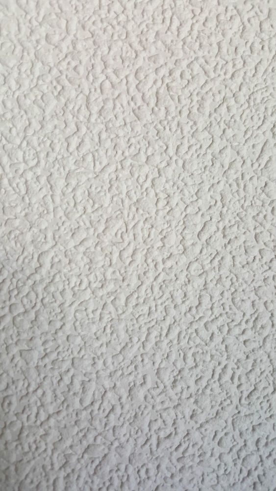 808 White Blown Textured Vinyl Ready to Paint Wallpaper in a Texture Pattern