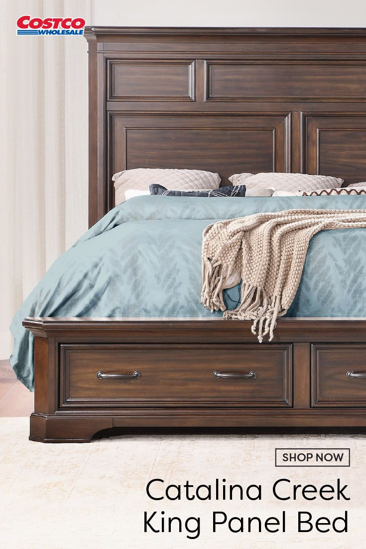 Catalina Creek King Panel Bed in 2020 Dream house