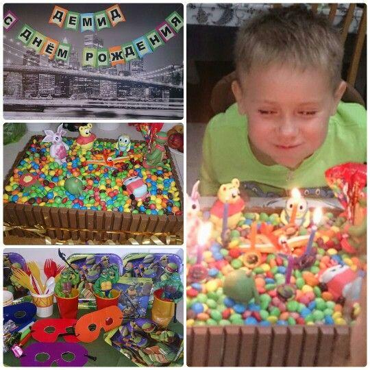День рождения у Демида