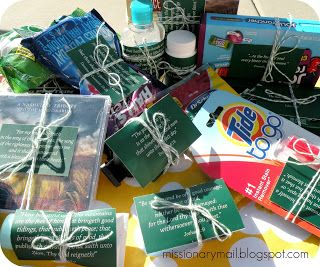 """Missionary Mail: """"Greenie"""" Scripture Care Package"""