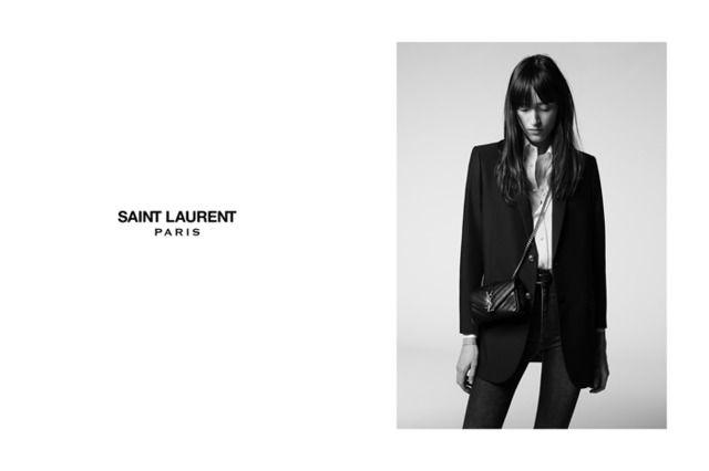「サンローラン」がバッグシリーズ「モノグラム・サンローラン」から、15年プレフォールコレクションの新作を発売