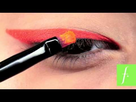 Eyeliner Neon Orange - Quick Tip 100% Actitud