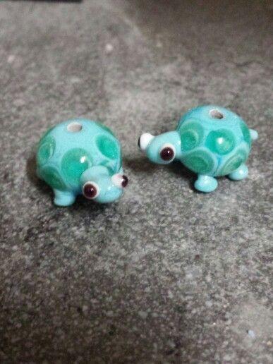 Art glass Tortoises