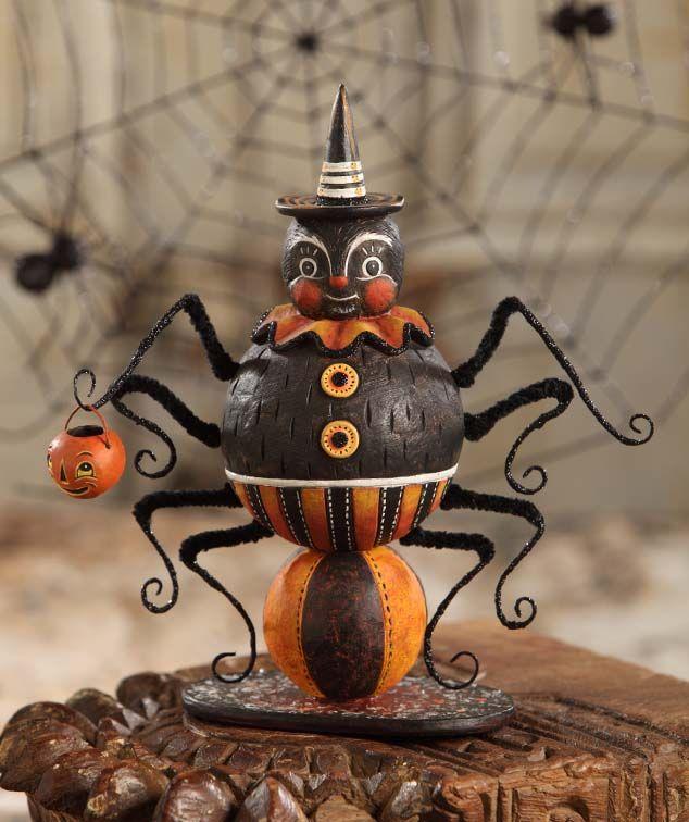 255 best Vintage Halloween images on Pinterest Coin purses, Purses - halloween decorations vintage