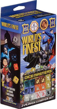 DC World's Finest Dice Masters Starter Set (2017 FCBD)