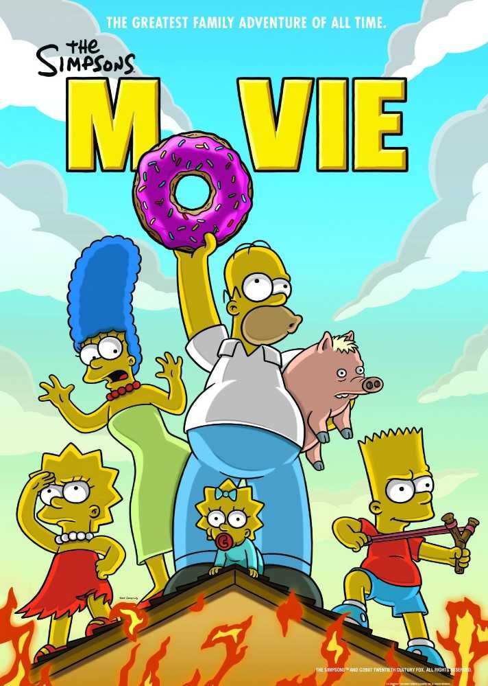 Watch The Simpsons Movie 2007 Full Movie Online Free Streaming