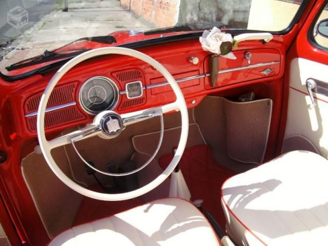 Vw - Volkswagen Fusca Conversível 1966 Lindo