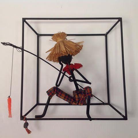 ✨SOLGT✨Bror Bonfils denne super fine string figur er meget velholdt, helt intakt og med den originale Bonfils plombe #bonfils #brorbonfilsdanmark #brorbonfils #stringfigur #stringart #midcenturymodern #loppeguld #danishdesign #50s #60s #retrohome #brdrbonfils #brorbonfilsfigur #vintage #art #anetteplith #genbrugstilbud #loppefund #vintagemodern #solgt