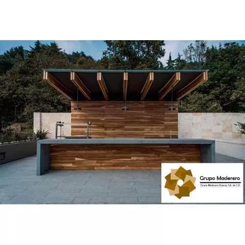 Madera Para Exterior Deck Parota Guanacastle - $ 740.00