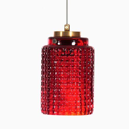 Moderne Mid-Century Hängelampe von Reijmyre Glasbruk AB, 1950er | Lampen > Deckenleuchten > Deckenlampen