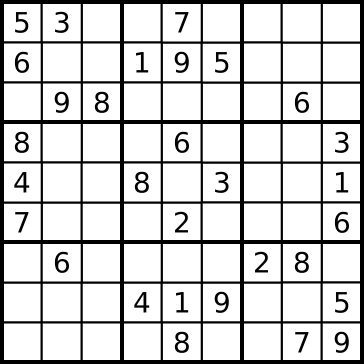 Bildergebnis für sudoku