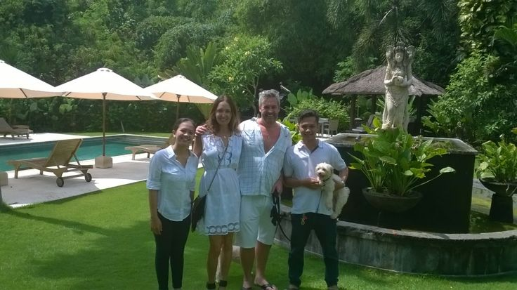 Some of our Happy Guests in pictures.#bali #geriabali #guest #tripadvisor #balivillas #villas #hgtv #balibible #villainbali #travel #luxury #facebook #holiday #tour #honeymoon