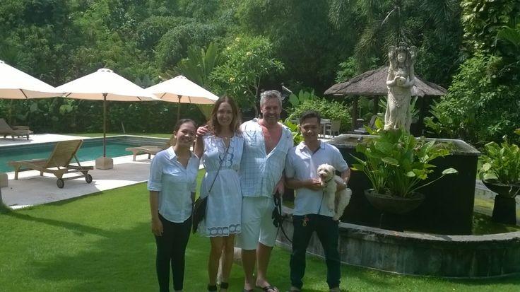 Some of our Happy Guests in pictures.#bali #geriabali #guest #tripadvisor #balivillas #villas #hgtv #balibible #villainbali #travel #luxury #facebook #holiday #tour #honeymoon