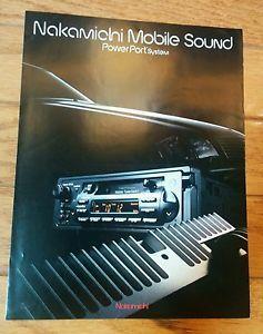 Nakamichi-PowerPort-System-Sales-Brochure