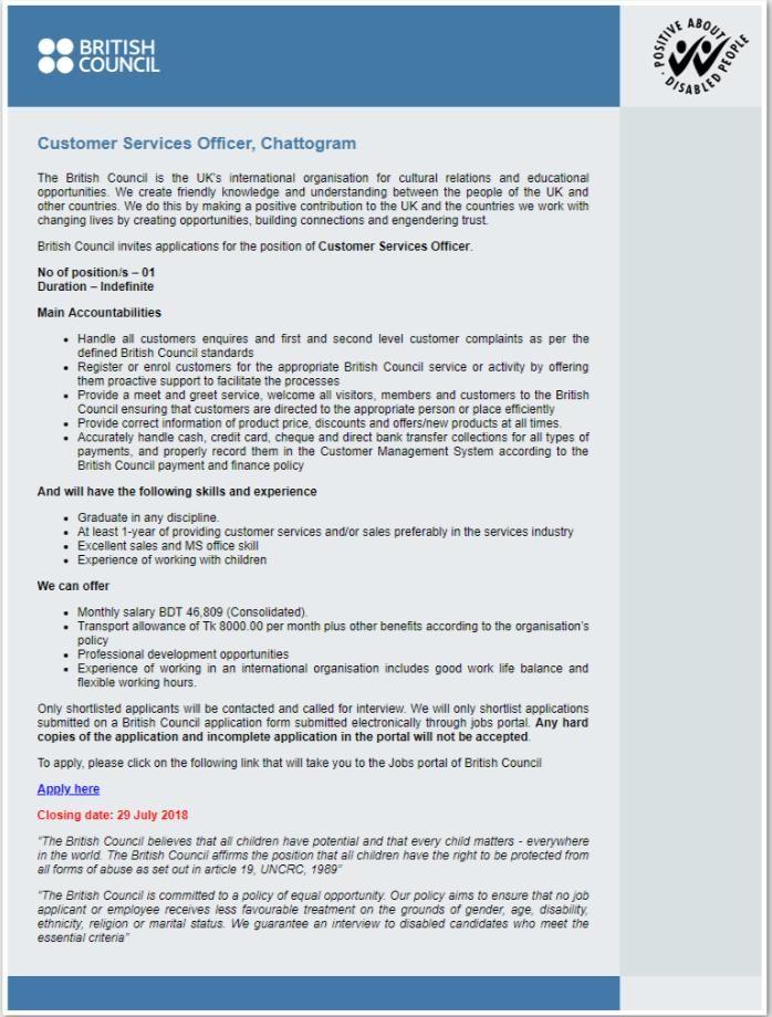 British Council Job Circular 2018 - wwwbritishcouncilorgbd NGO