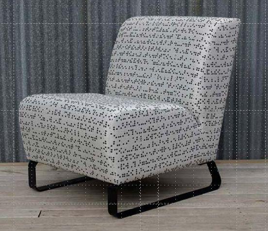 Club Chair_Sled Base