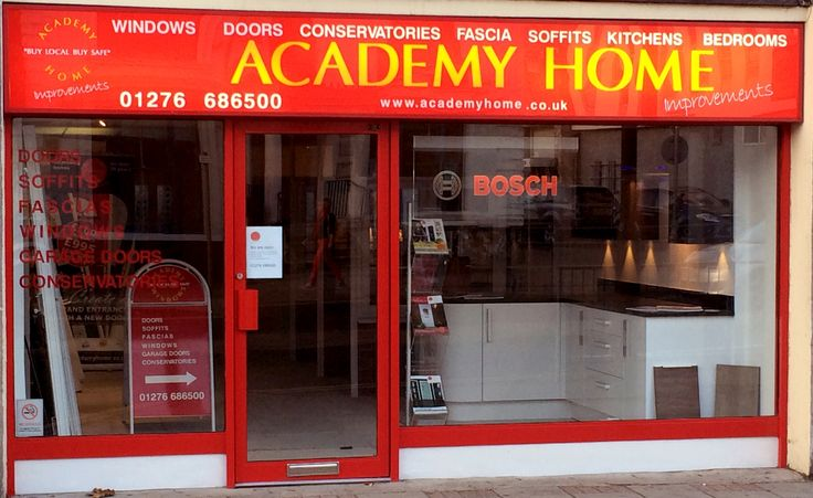 Newly refurbished Frimley Showroom - #kitchens #windows #doors #conservatories #fascias #bedrooms http://www.academyhome.co.uk/showroom/frimley