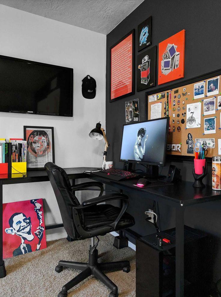 Work Desk In Bedroom Ideas
