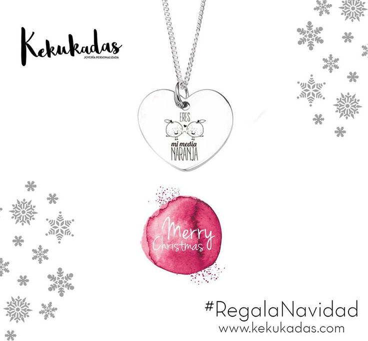 ¿Y si os te decimos que sois nuestra media naranja? ¡Sois vosotros los que creáis la comunidad de Kekukadas - Joyería Personalizada! Si tu también tienes tu #mediaNaranja y no sabes como decírselo...¡Tenemos el #regalo perfecto para esta #Navidad! Muestra lo que sientes con un detalle muy especial...¡Con un 30% de #descuento! Hazte con el tuyo ⭐http://bit.ly/2hcLa9l ⭐   #OutletJoyeria #joyaspersonalizadas #joyeriapersonalizada #instafashion #lookstyle #style #estilo #kekukadas #kukadas…