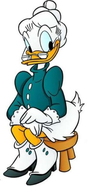 Grandma Duck is one of my favourites in the Donald Duck comics