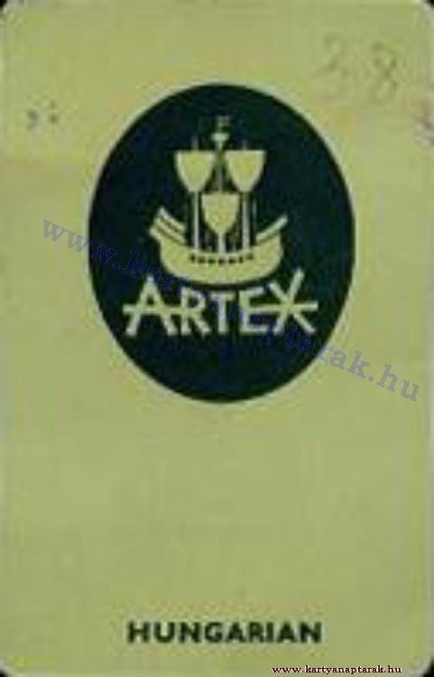 1964 - 1964_0165 - Régi magyar kártyanaptárak