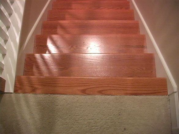 Best Landing Tread To Carpet Wood Floor Stairs Wood Stairs 400 x 300
