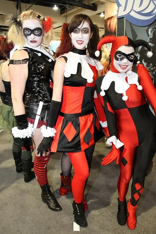 harley quinn costumes halloween costume ideas. Black Bedroom Furniture Sets. Home Design Ideas