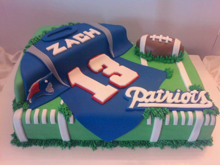 football cake - but with the 49ers for Ken