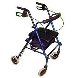 Liv-Rite Rollator - Blue - HE-ALRW by Regency Products. $54.22. Liv-Rite Rollator The Liv-Rite Rollator features lightweight design and durable construction from the latest innovation in four wheel rollators. The 4