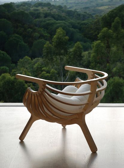 Gorgeous wooden chair #furniture #chair