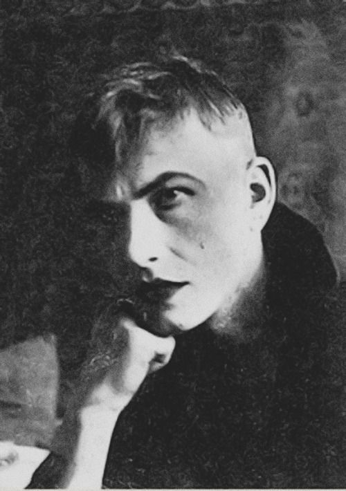 Otto Dix, 1920 [1891-1969] First active in Weimar Germany,  Dix' Expressionist prints and paintings immortalized the unprecedented horrors of World War I and its crippling aftereffects on life in Berlin.