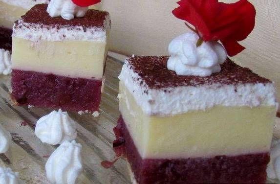 sütés nélküli pudingos