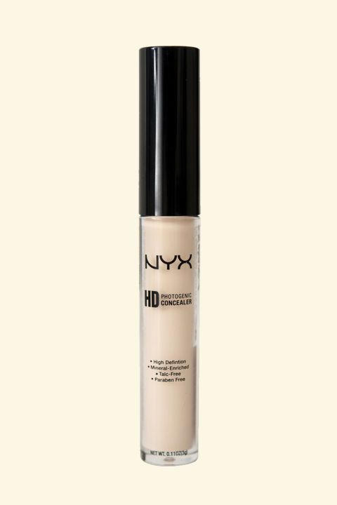At under $5, it makes sense to be skeptical, but this concealer will cover everything (blemishes, redness, discoloration, and so on) with a smooth matte finish that never looks cakey and stays on forever.NYX HD Photogenic Concealer, $4.99; ulta.com.