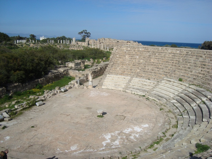 Salamis theatre, North Cyprus