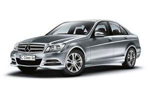 The Mercedes-Benz C-Class  compact executive car sector...