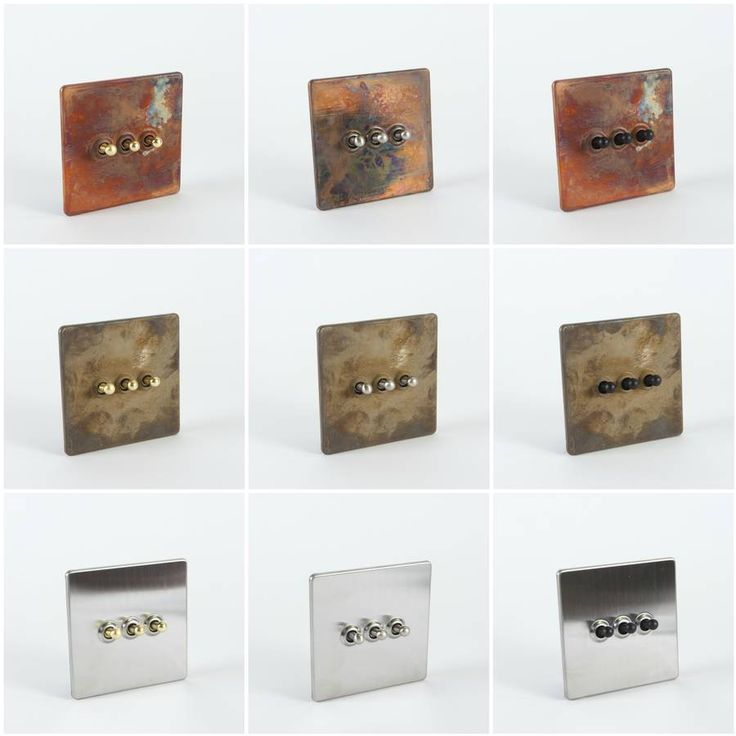 Design Your Own Toggle Light Switches