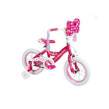 Girls' 14 Inch Minnie Mouse Bike