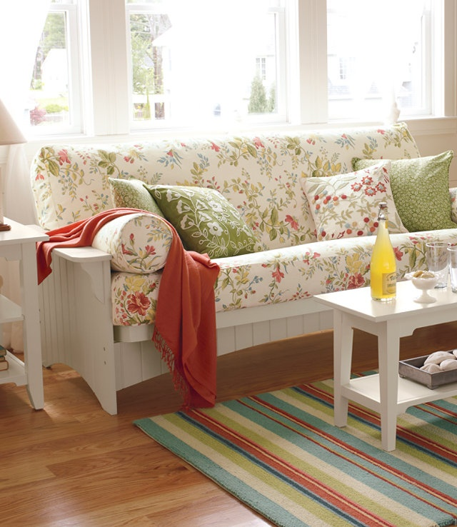 Futon Be Pretty In A Sun Room Country Chic Home Pinterest Sun Guest Rooms And Patterns