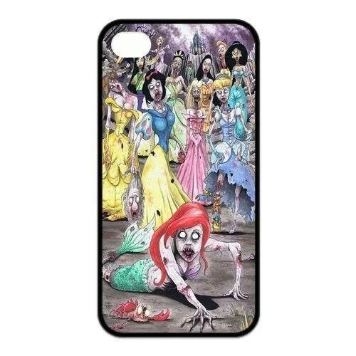 Samsung samsung galaxy s4 cell phone cases : Disney princess zombies phone case : Cool Stuff : Pinterest