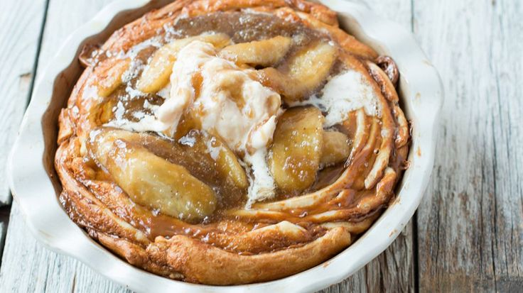 Blogger Carrian Cheney shares a delicious version of the banana pastry classic that preps in minutes.