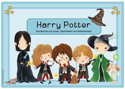 """Ideenreise: Spiralkartei """"Harry Potter"""""""