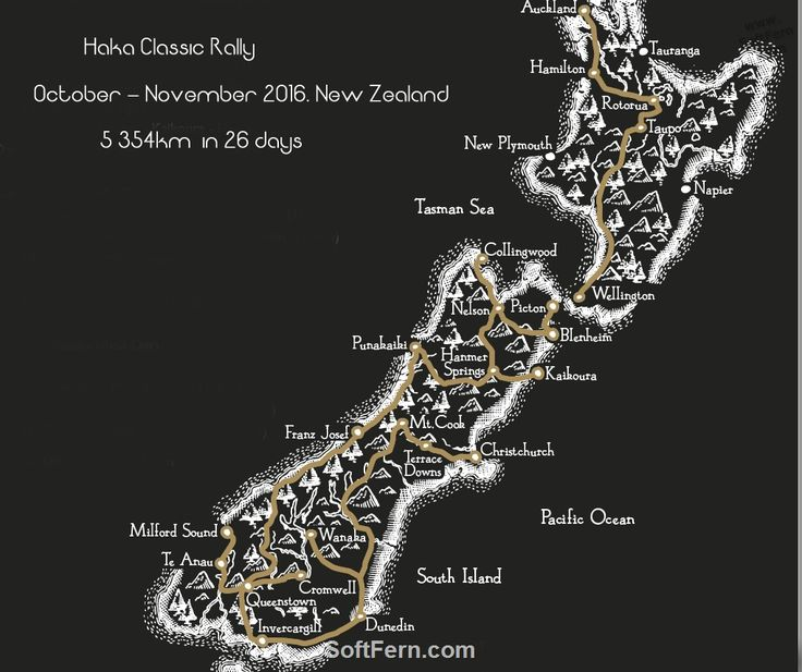 Haka Classic Rally New Zealand route map        Haka Classic Rally started yesterday. 22 vintage and classic cars vs 5 354km competition on the North and South Islands of New Zealand. ... 34  PHOTOS        ... 20 vintage and classic cars vs 5  354km competition on the North and South Islands of New Zealand.        Original article:         http://softfern.com/NewsDtls.aspx?id=1114&catgry=7            SoftFern News, SoftFern Sport News, SoftFern photos, photos by SoftFern, Sergiy Bondar…