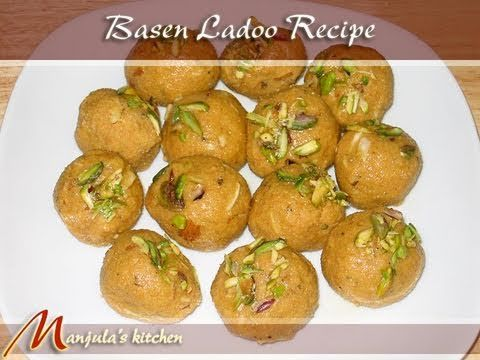 Besan Ladoo Recipe by Manjula, Indian Sweets