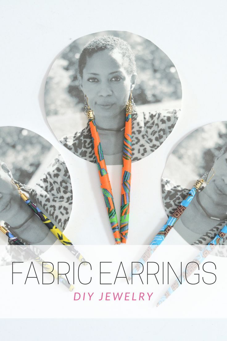 DIY ethnic inspired fabric bead dangle earrings, super fun beaded earrings, so cute & unique. trendy earrings, diy fabric earrings, Follow step-by-step instructions to make diy earrings, diy tutorial, DIY Earrings, jewelry diy, fabric beads diy, Long diy Ankara dangle tube spear shaped earring, dangly long earrings, cute earrings to make, makes a great Mother's Day gift | Thriftanista in the City