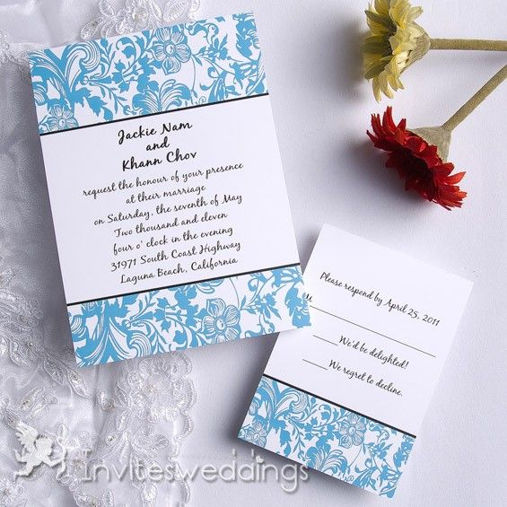 Wedding Invitation Numerous Summer Memories