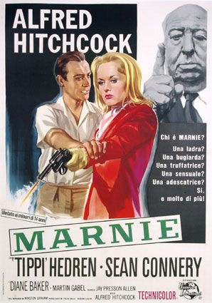 If you were born in 1964, Alfred Hitchcock gave us another suspense movie, Marnie - he brought back Birds star Tippi Hedren and paired her with James Bond himself, Sean Connery. Maybe your folks put you with a baby sitter and went off to see the new Hitch movie.