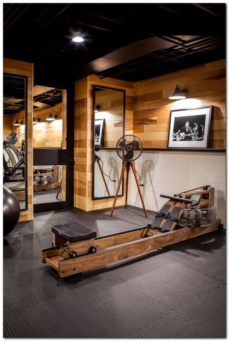 Best flooring for a home gym - 30 Setup Gym Ideas On Small Home