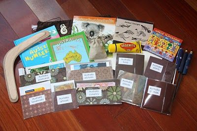 I love this idea!!  Everything you need to teach about continents in a bag!  Some of the things she has in there are neat!