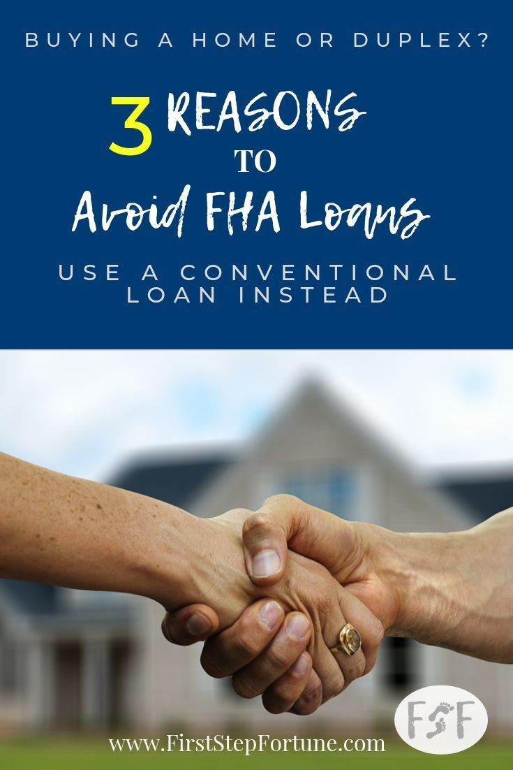Conventional Loans or FHA Loans? 3 Reasons to AVOID FHA Loans! If possible, choose conventional loans over FHA loans when purchasing a property. You will save money in the long run. Here are 3 reasons to AVOID FHA Loans!